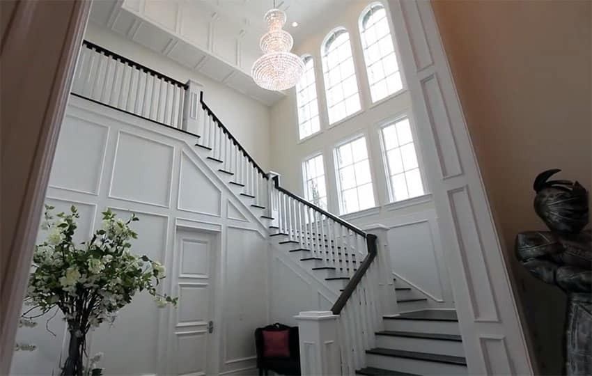 How To Stain Stair Railing Without Sanding Designing Idea | Cost To Refinish Wood Railing | Stair Treads | Interior | Gel Stain | Paint | Balusters