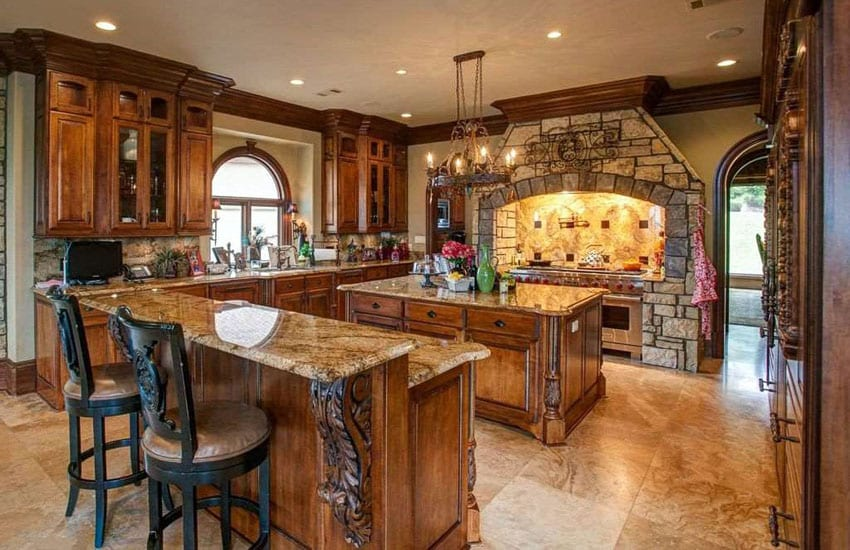 Old World Tuscan Kitchen