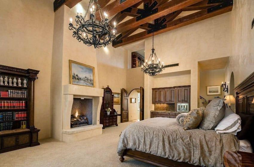 Best Color Master Bedroom Dark Furniture