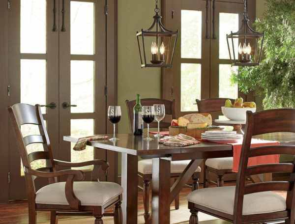 pendant lighting over dining room table # 38