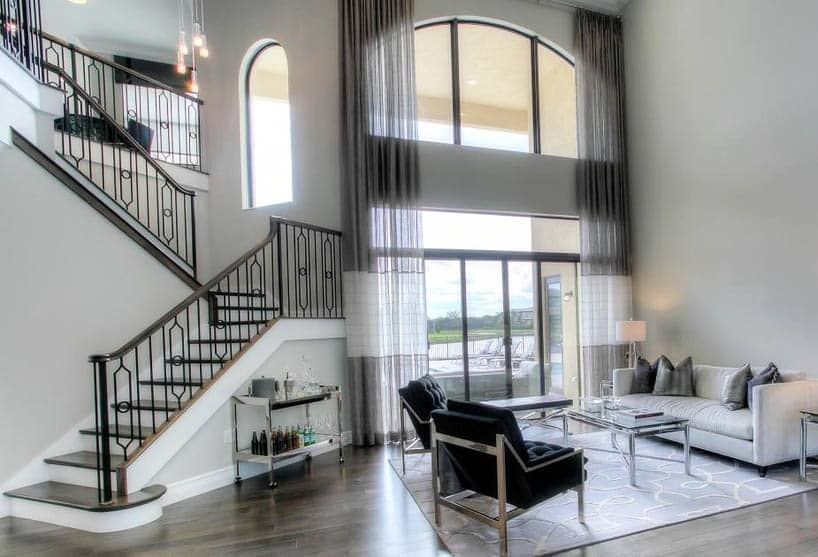 60 Gorgeous Stair Railing Ideas Designing Idea | Modern Iron Stair Railing | Handrail | Before And After | Glass | Ornamental | Elegant