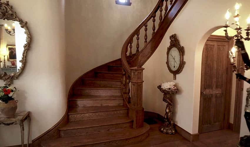 60 Gorgeous Stair Railing Ideas Designing Idea | Wooden Railing Designs For Stairs | Wrought Iron | Unique | Minimal Railing | Brown | Balcony