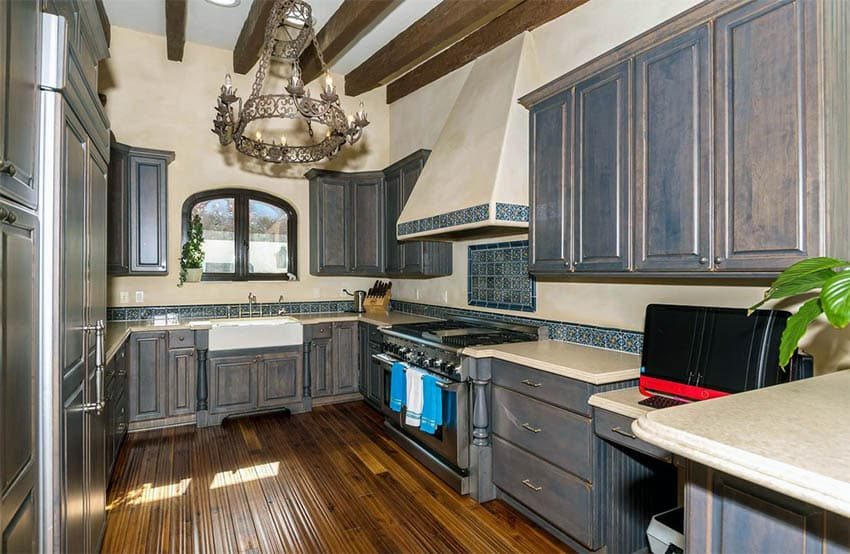 Distressed Kitchen Cabinets Design Pictures Designing Idea
