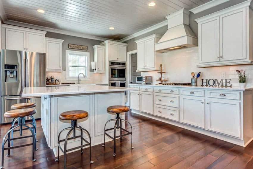 Small White Kitchens Designs
