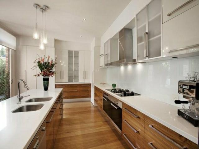 Galley Kitchen Lighting Plans