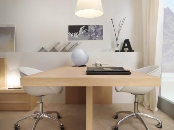 Wooden Large Desk Office