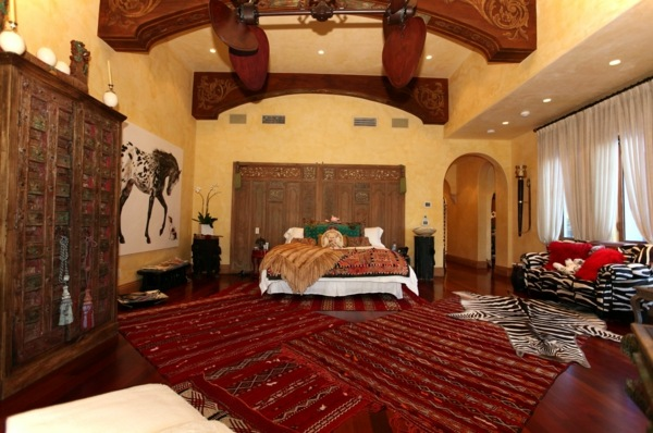 African Living Rooms Decorated