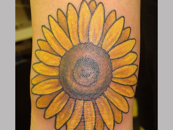 Sunflower Tattoo Designs - Large Collection, Awesome ...