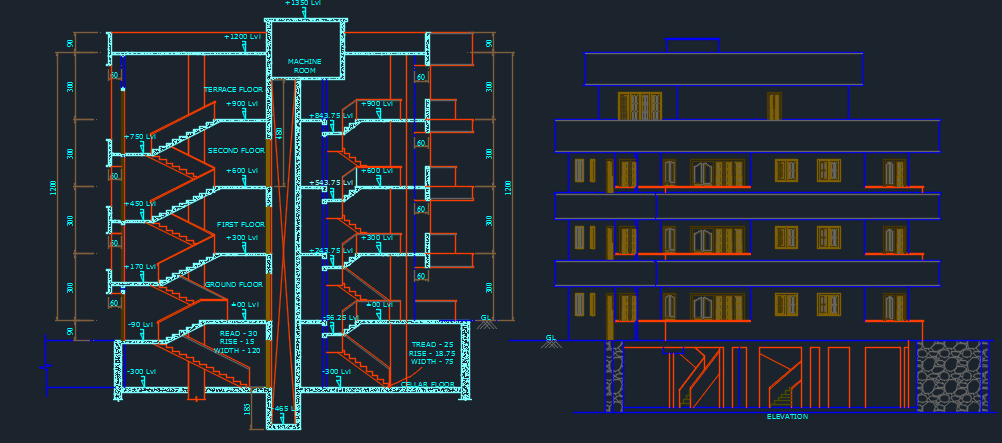 Apartments 2d Dwg Design Plan For Autocad Designs Cad