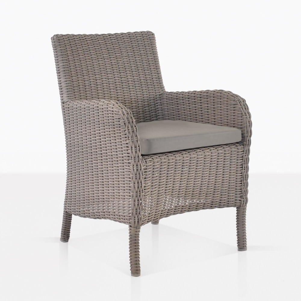 Indoor Arm Wicker Chair