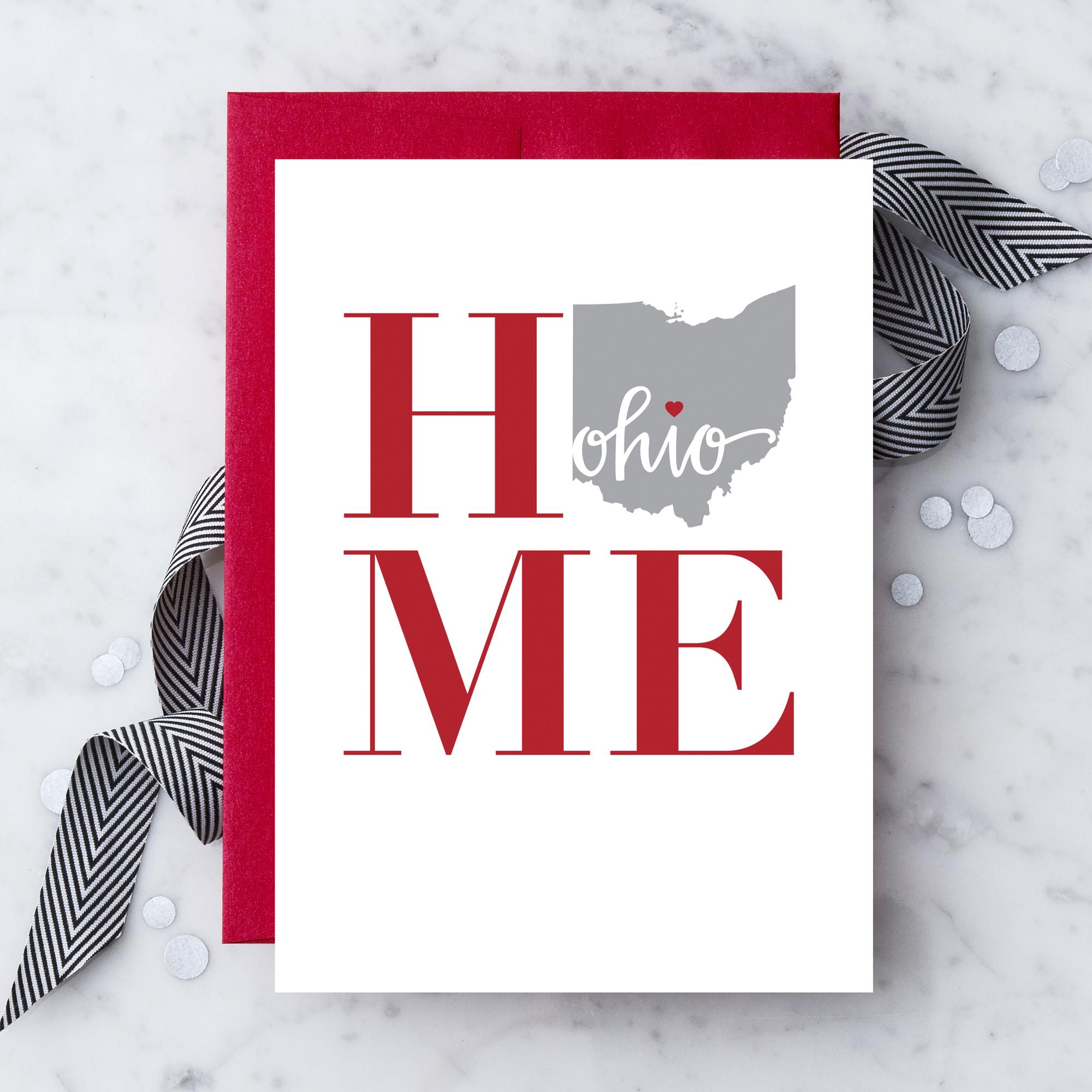 Modern Boxed Wedding Invitations Black