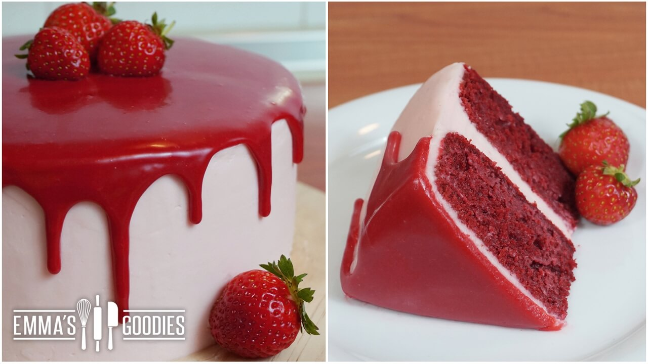 Quick And Easy Red Velvet Cake