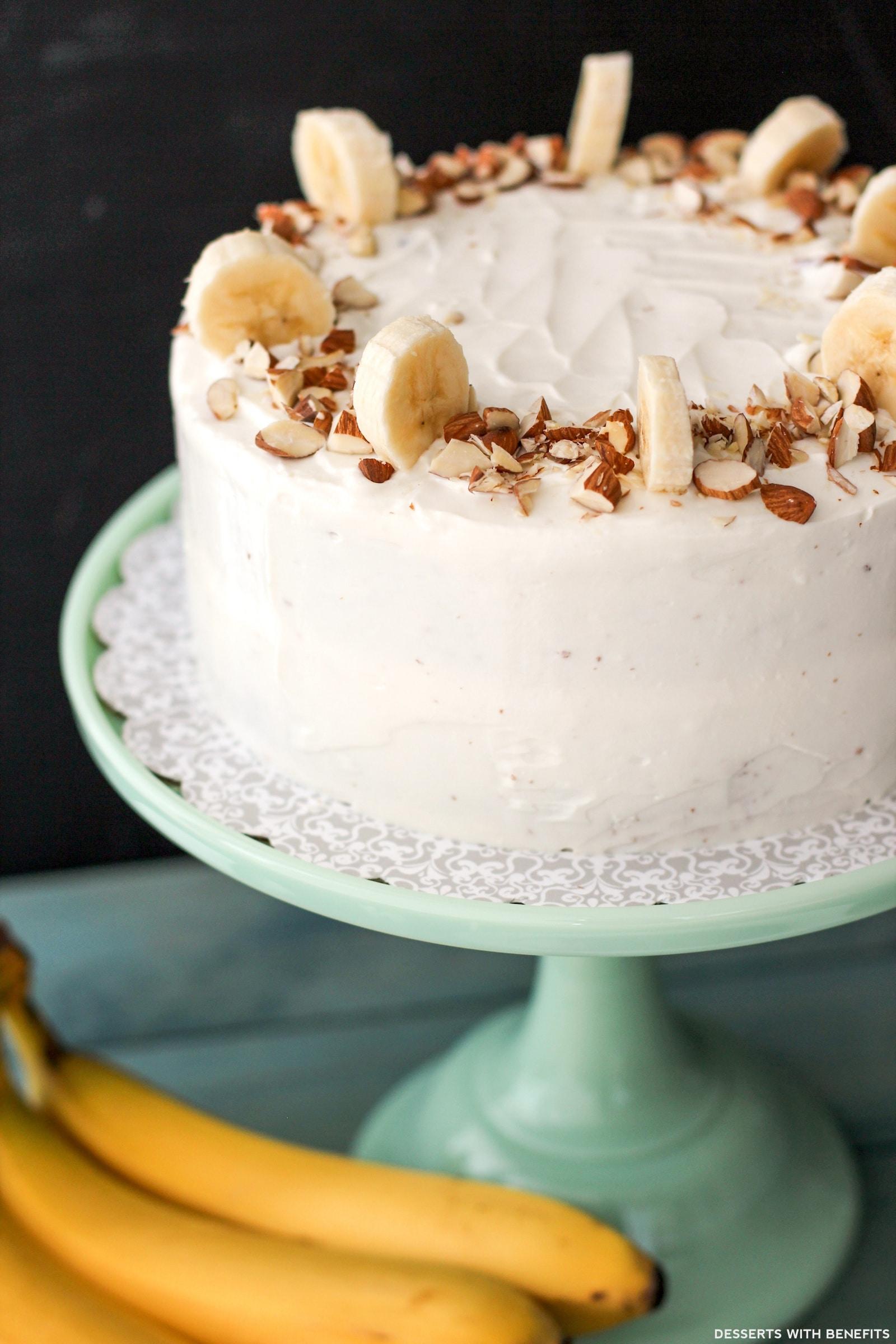Fluffy Moist Banana Cake