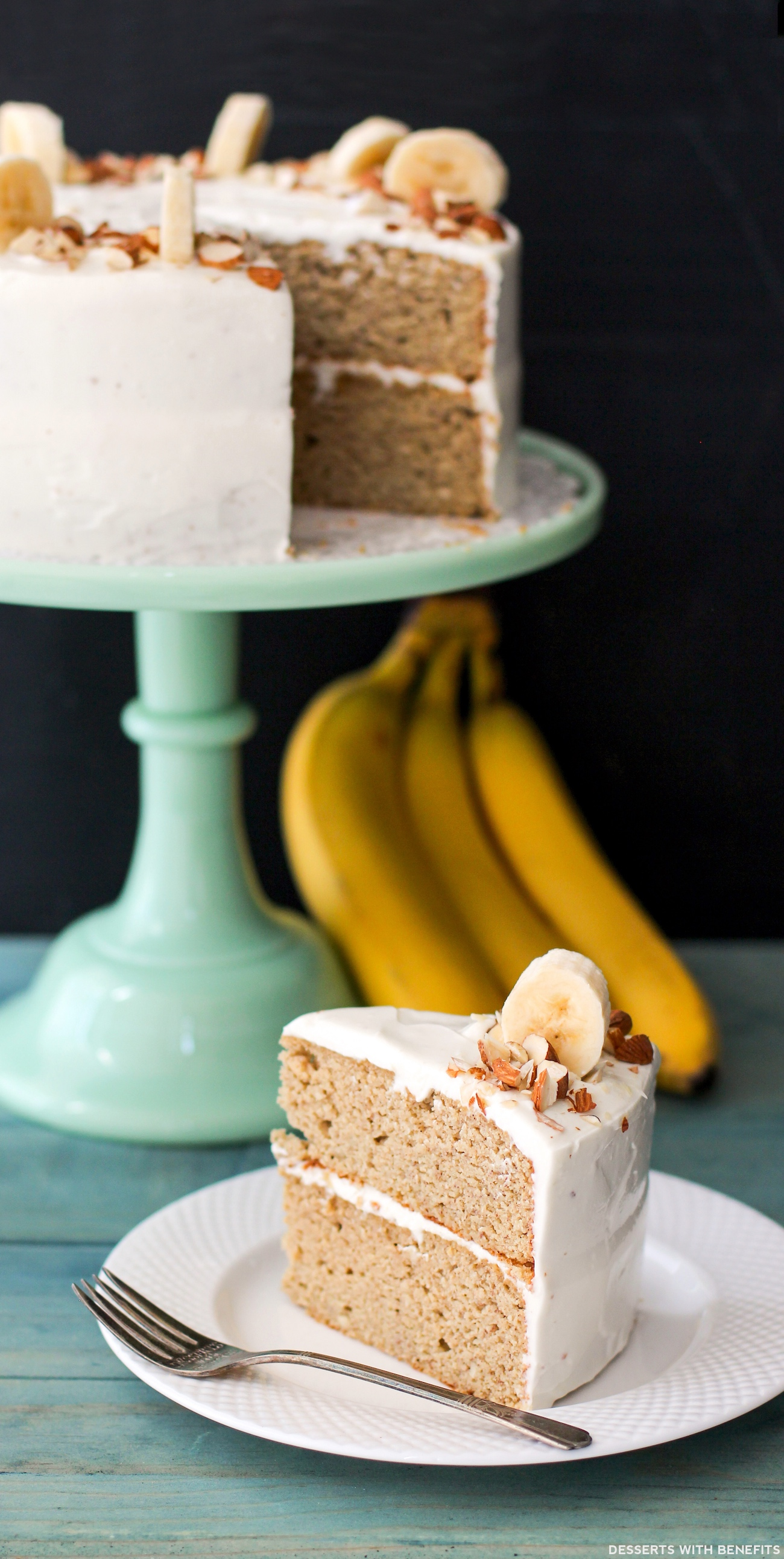 Banana Cake And Cream Cheese Icing