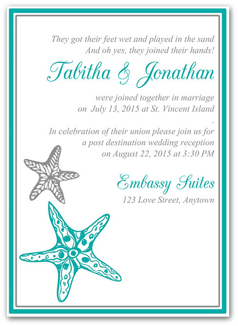 Small Wedding Invitation Wording