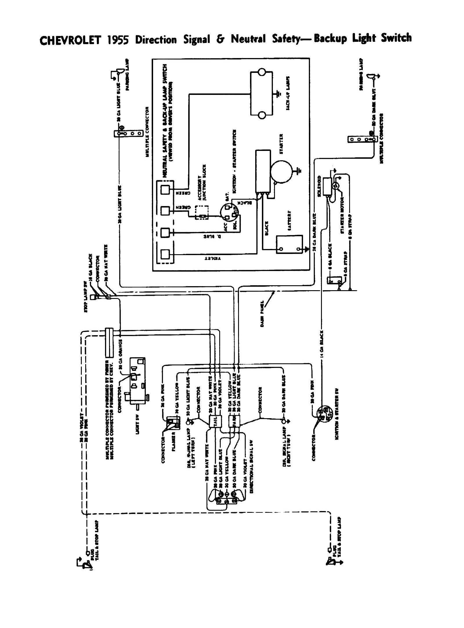 1956 Chevy Heater Wiring Diagram