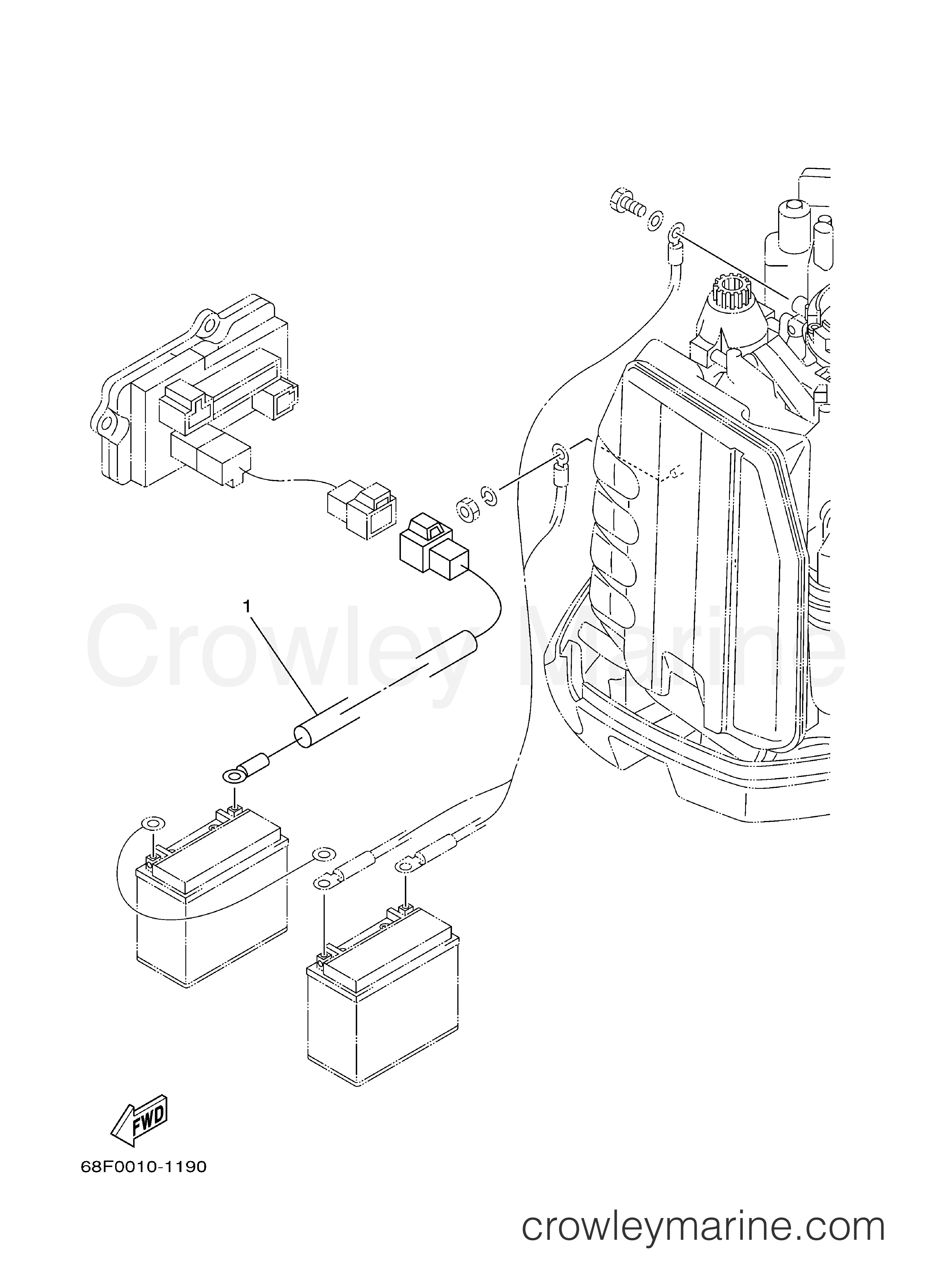 Inboard outboard engine diagram optional parts 1 2001 yamaha outboard 150hp z150txrz of inboard outboard engine