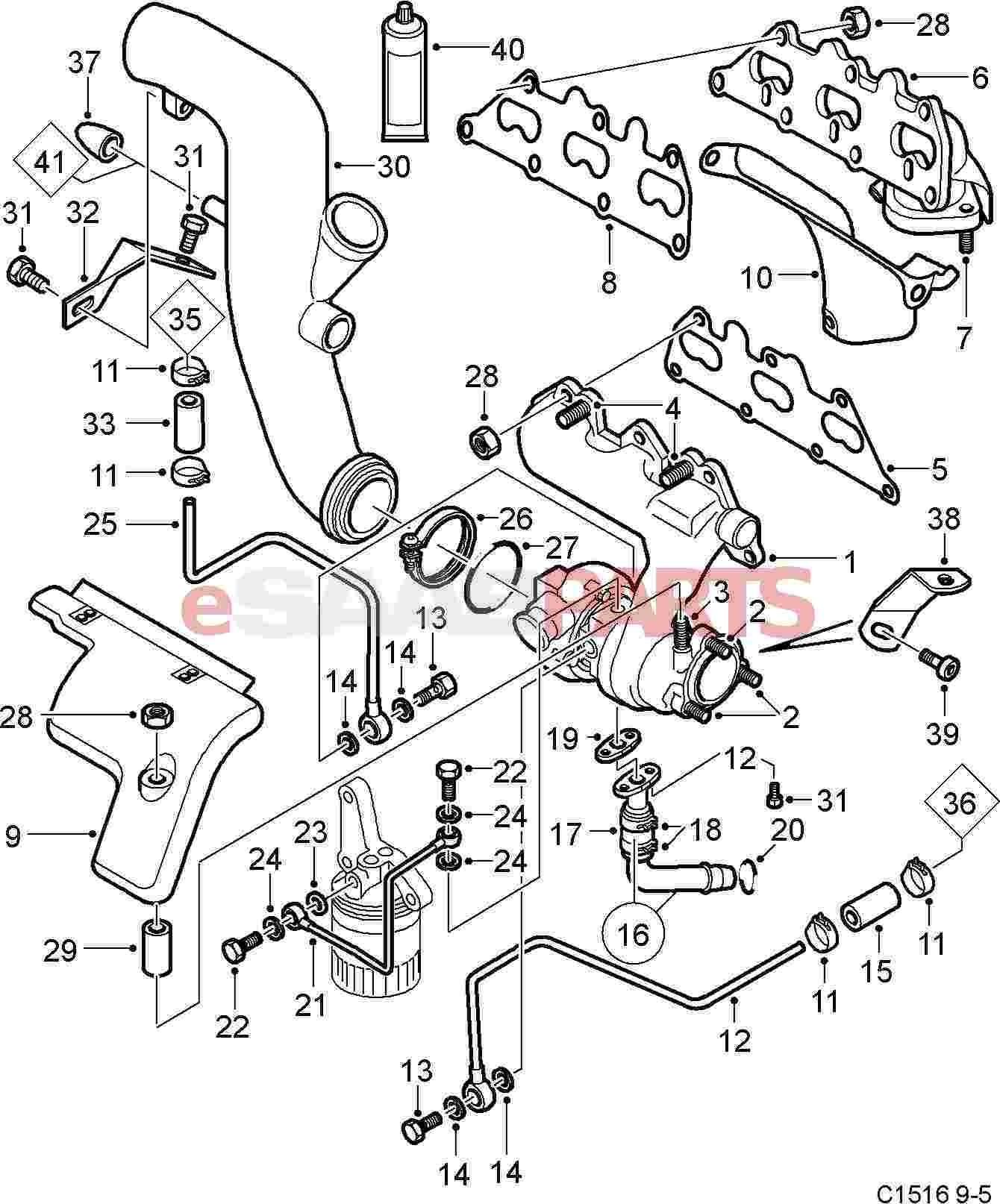 Saab seal genuine saab parts from esaabparts