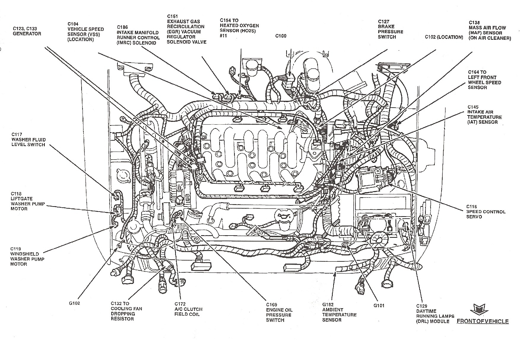 2001 Ford Focu Se Engine Diagram