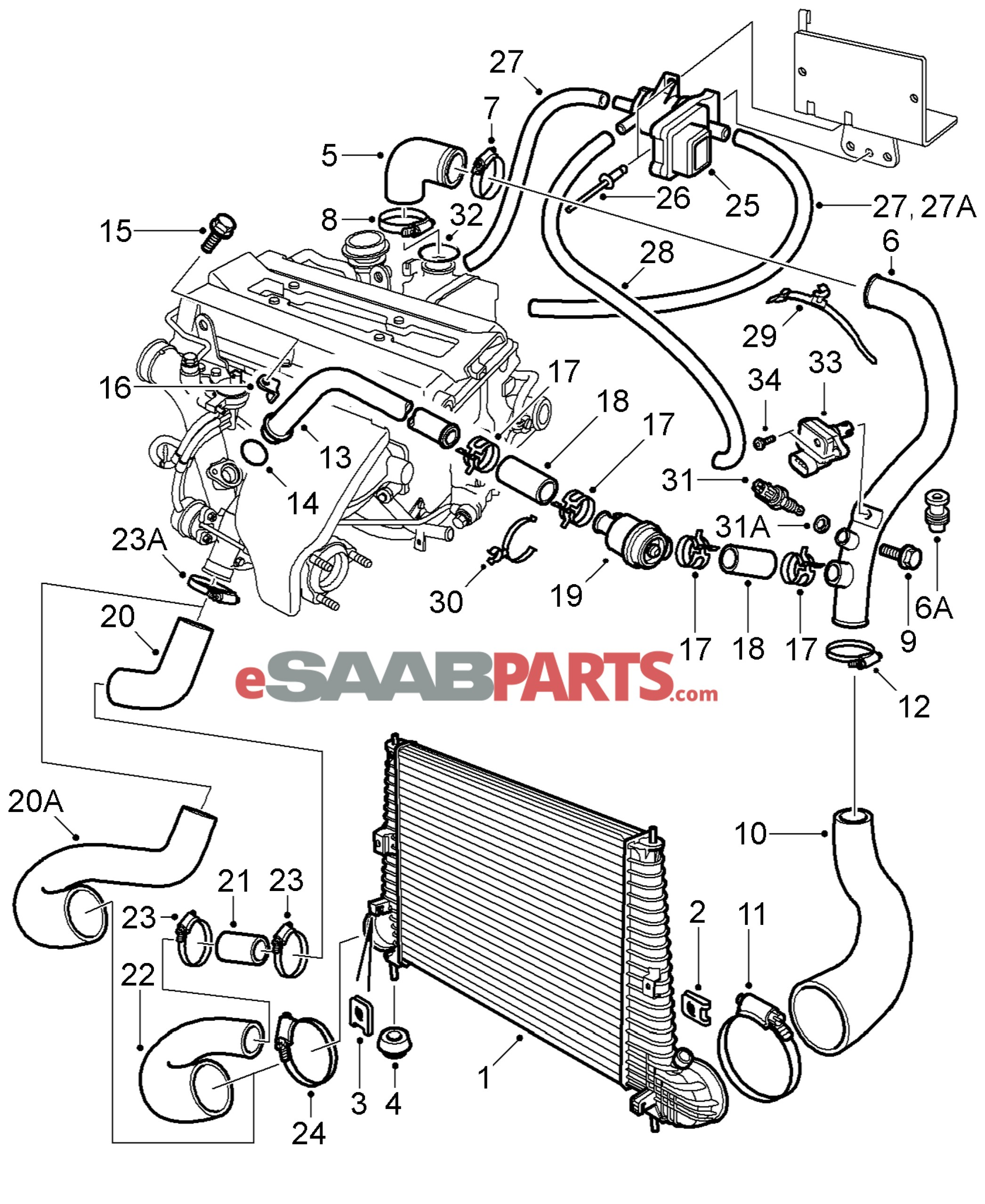 1999 saab engine diagram wiring data u2022 rh maxi mail co 1993 saab 9 3 engine