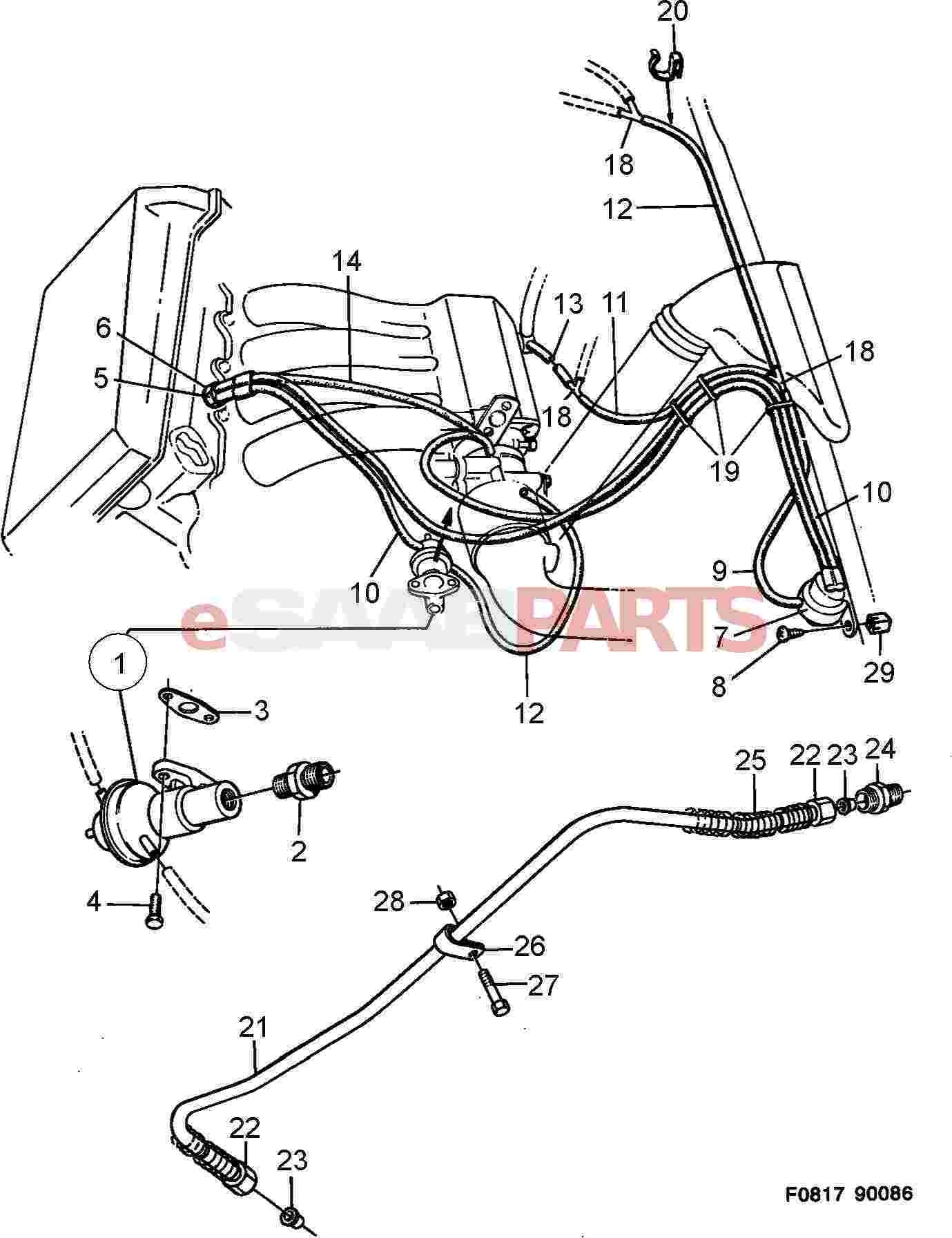 Saab 900 se engine diagram application wiring diagram u2022 rh diagram today 1992 toyota pickup coolant system diagram 1992 toyota pickup coolant system