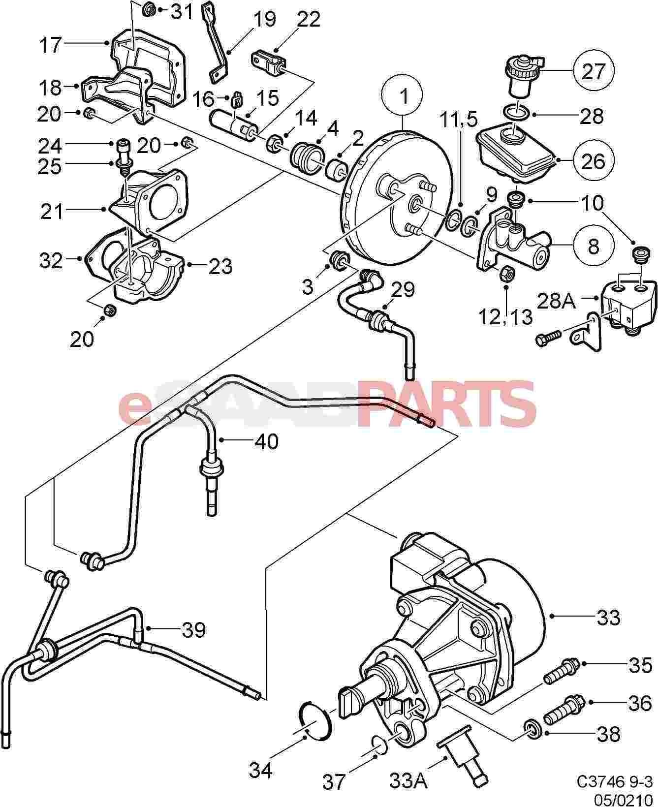 Saab nipple genuine saab parts from esaabparts