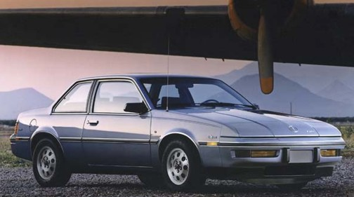 Skyhawk Type Turbo Buick T 1986