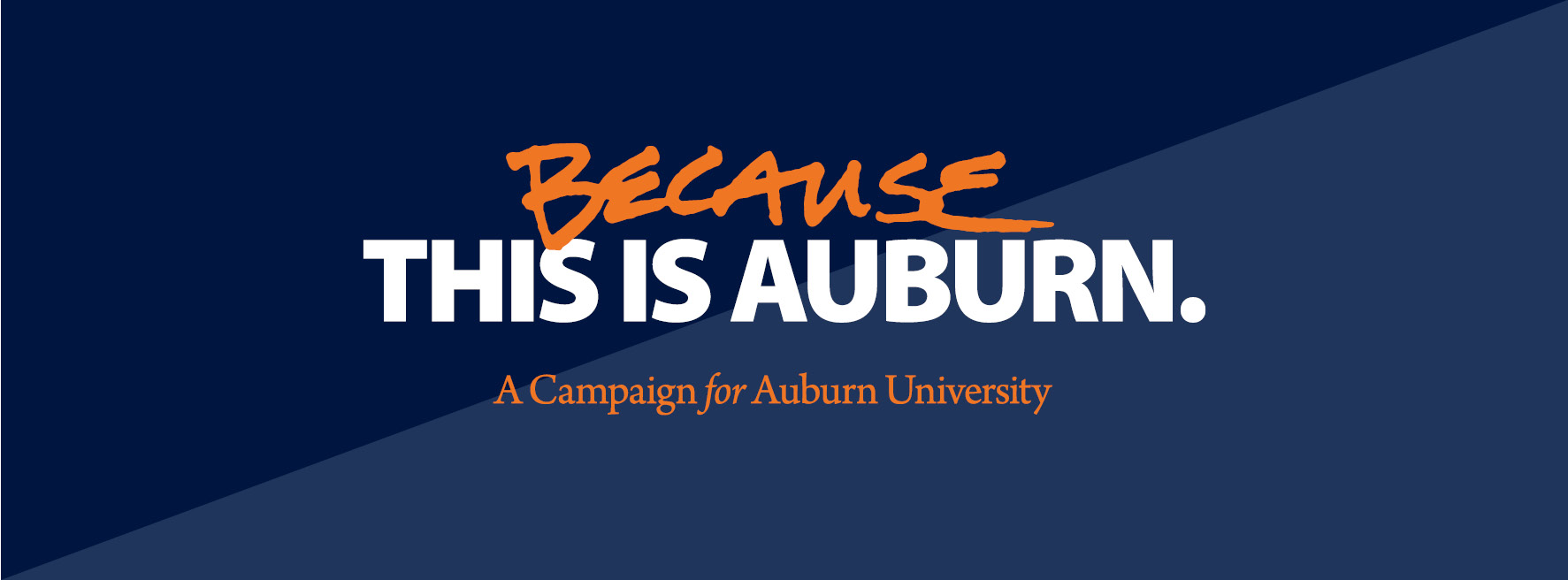 Because This Is Auburn Becauseau