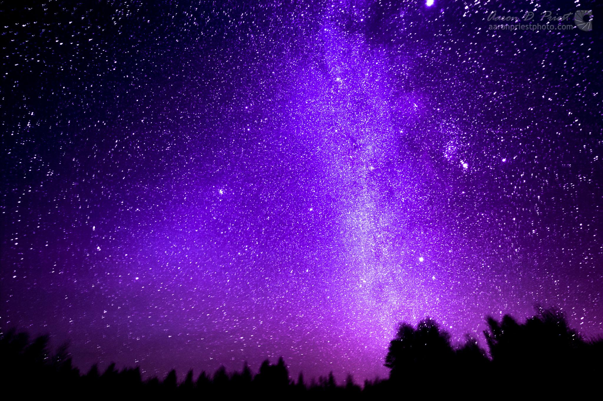 purple galaxy aesthetic - 1038×691