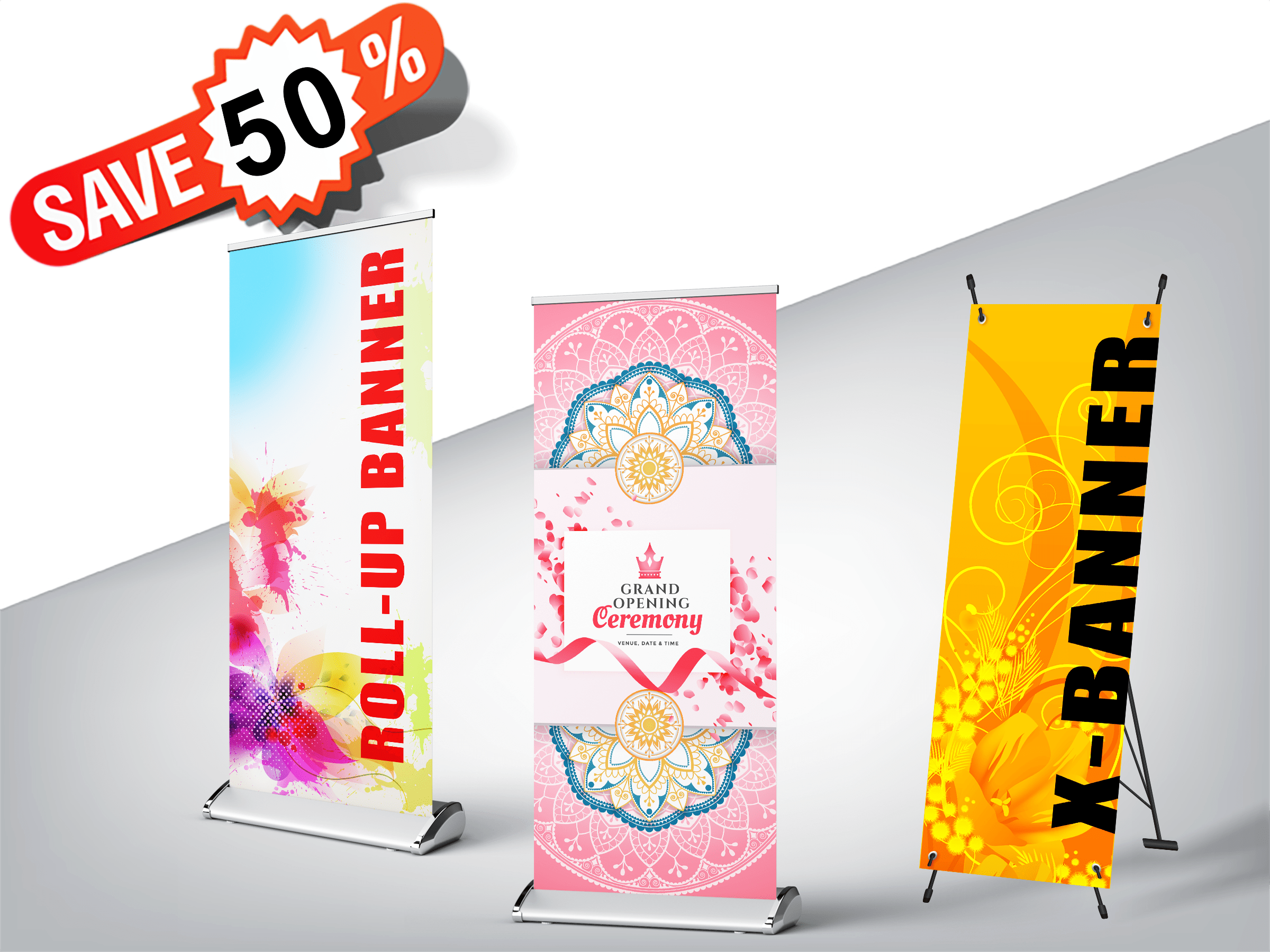 Collapsible Banner Printing