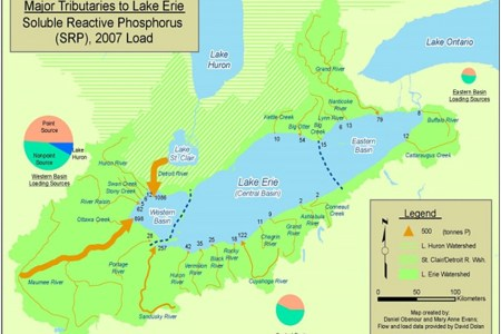 Lake Erie Map Central Basin Full HD MAPS Locations Another World - Lake erie fishing hot spots map