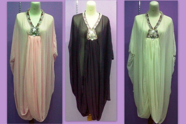 Image Result For Model Baju Gamis Bunga Tempel