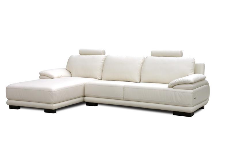 Sofa Chaise Longue Piel