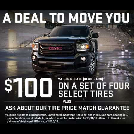 Up to  100 Tire Rebates at Dave Arbogast