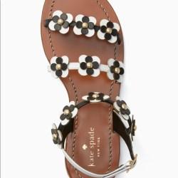 2c70eb432b0a Kate Spade Shoes Nwot Flower Sandals Poshmark