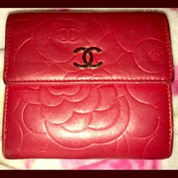 0e4df48e5fb792 Chanel Pink Flower Wallet | Gardening: Flower and Vegetables