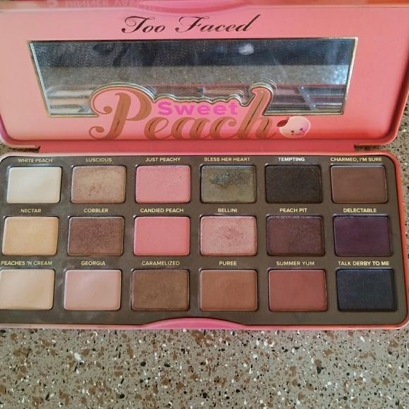 sweet peach palette # 6
