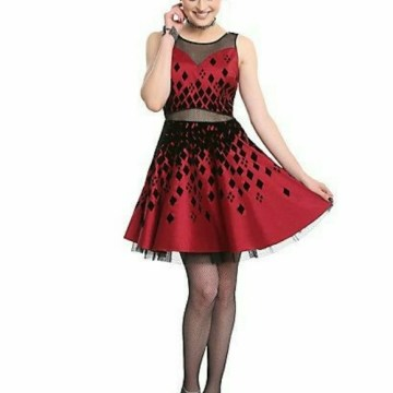 Dresses   Hot Topic Harley Quinn Formal Dress   Poshmark Hot topic Harley Quinn formal dress