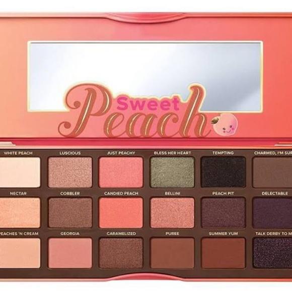 sweet peach palette # 52
