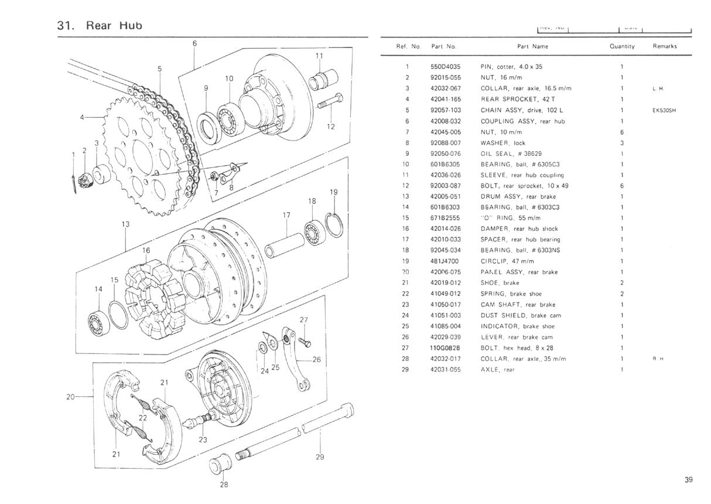 1977 kz650 b1 parts diagrams
