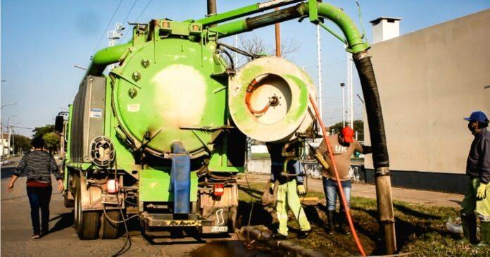 Resistencia ejecutó el saneamiento de un conducto subterráneo que beneficia barrios de la zona Oeste