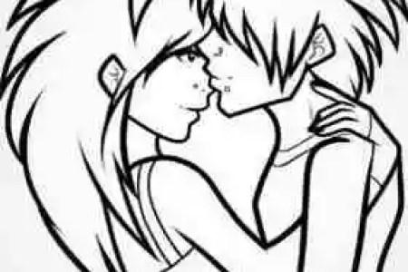 Dibujos A Carboncillo Faciles De Amor Love T Drawings