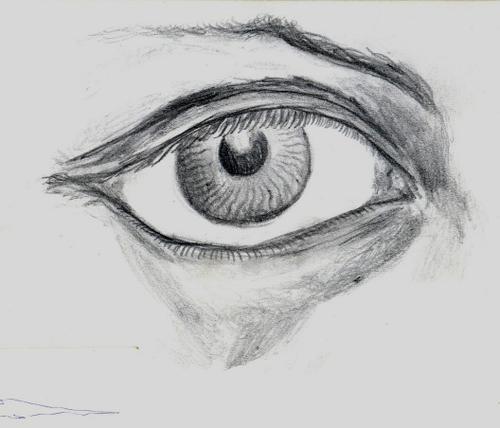 Dibujos Faciles Ojos De Lapiz