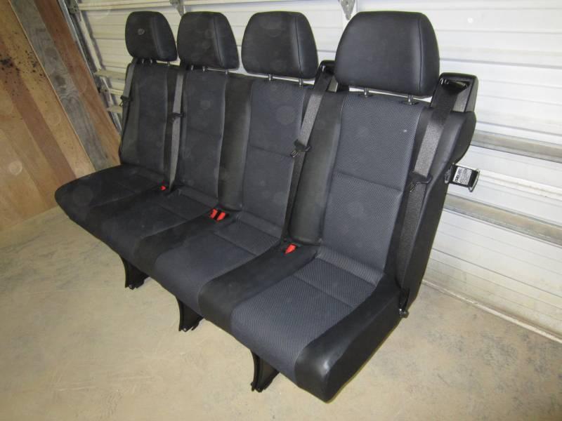 14 16 Mercedes Benz Sprinter Van 4 Passenger Black Leather