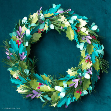 wreath template pdf # 35