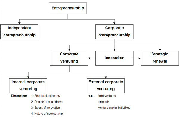 Four Types Business Innovation