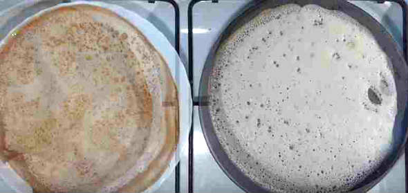 Kuinka tehdä pannukakkuja maidon ohut reikien kanssa