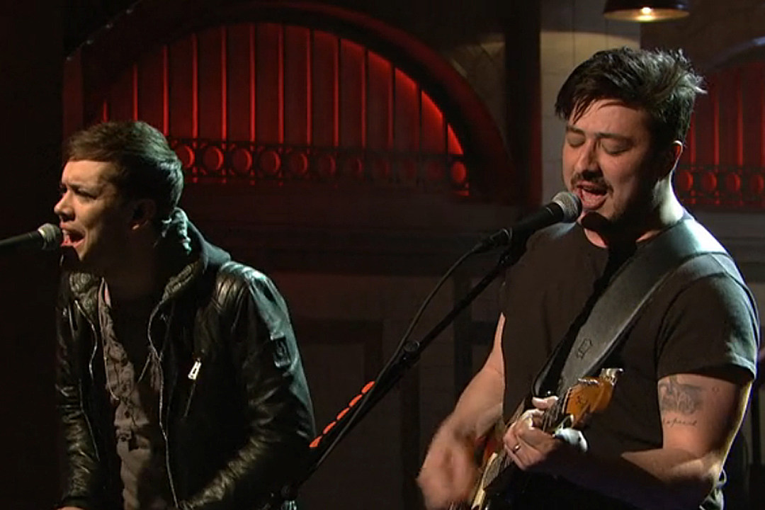 Watch Mumford and Sons Perform on  SNL