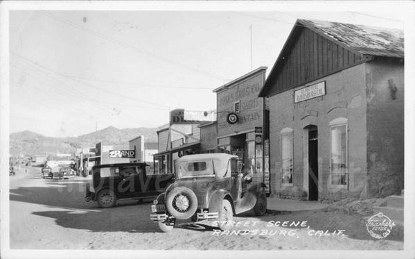 Randsburg Ca Historic Photos