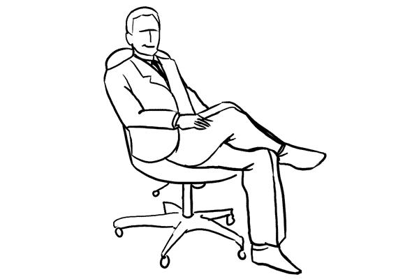 Man Sitting Cross Lagon Ground Drawing